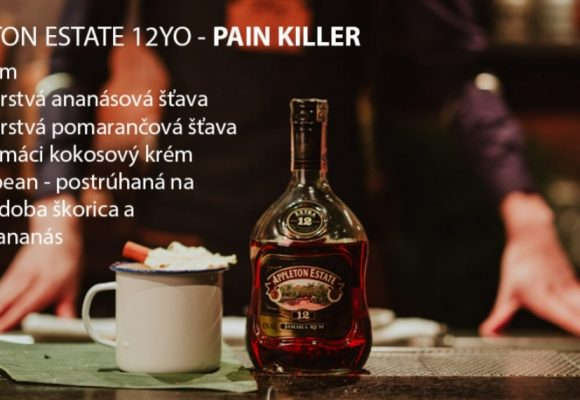 5. časť – Video recept: Pain Killer drink